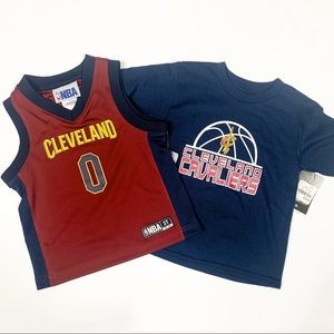 Cleveland Cavaliers Toddler T-Shirt & Jersey